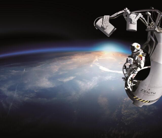 Cosmic Felix Baumgartner