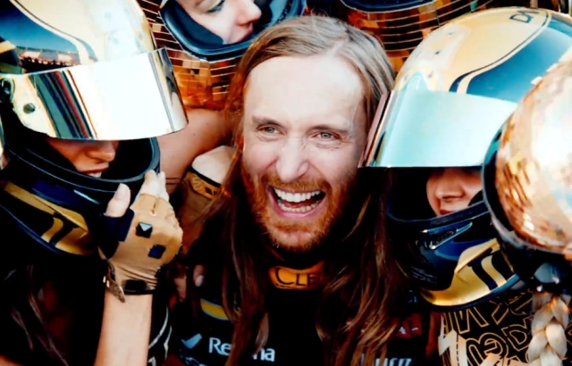 Дэвид Гетта покоряет Формулу 1