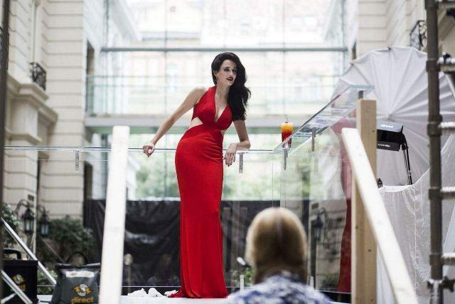 Eva Green Campari Mythology Mixology 2015 2