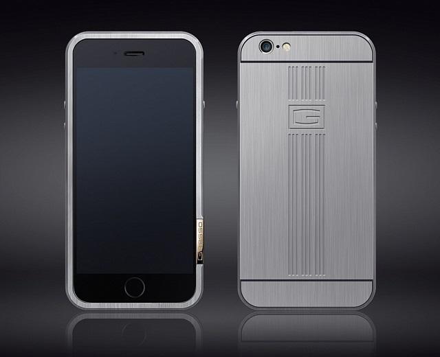 Титановые бампера GRESSO для iPhone 6