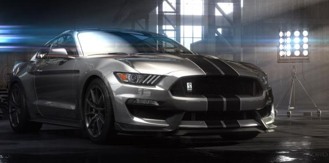 Экстремальный Ford Mustang Shelby GT350 2016