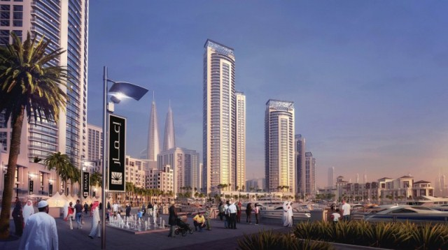 Dubai Twin Towers 4
