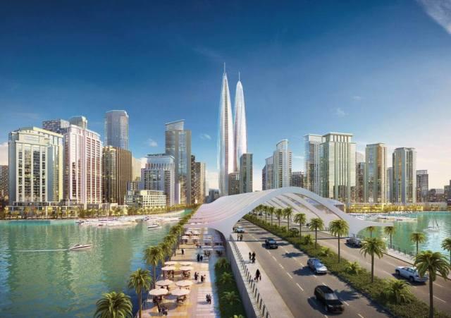 Дубайские башни-близнецы