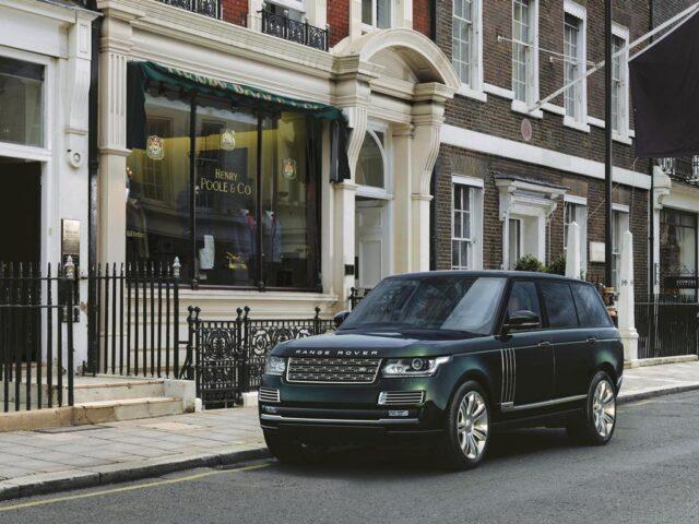 Самый дорогой Range Rover