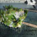 Футуристический парк на Манхэттене