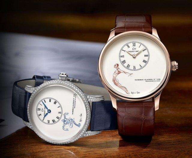 Балетные часы Jaquet Droz