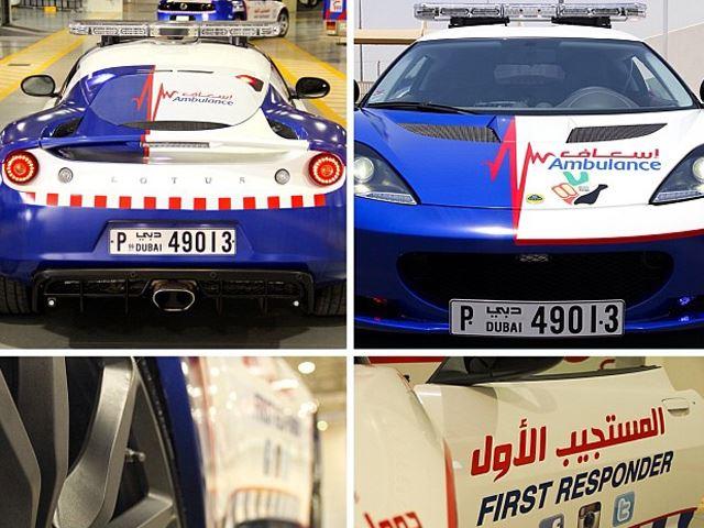 Lotus Evora Ambulance 2