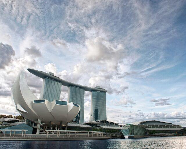 Экспоцентр в Сингапуре Marina Bay Sands