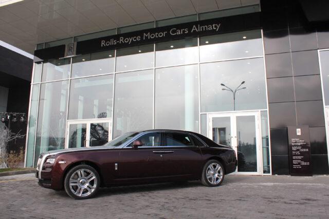 Салон Rolls-Royce Motor Cars в Казахстане