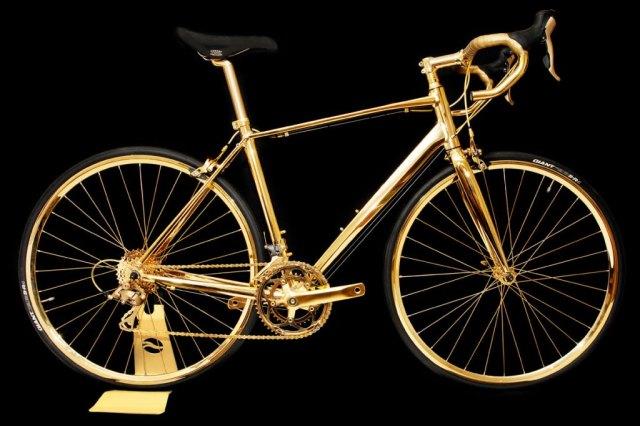 Goldgenie 24K Gold Men Racing Bike