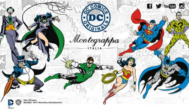 Montegrappa DC Comics Heroes and Villains col