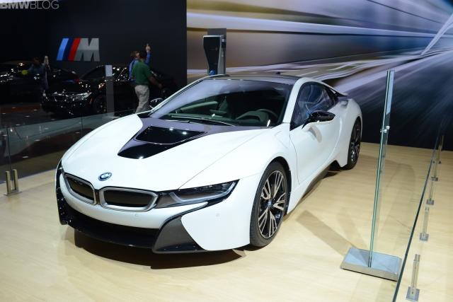 2015 BMW i8 Chicago autoshow