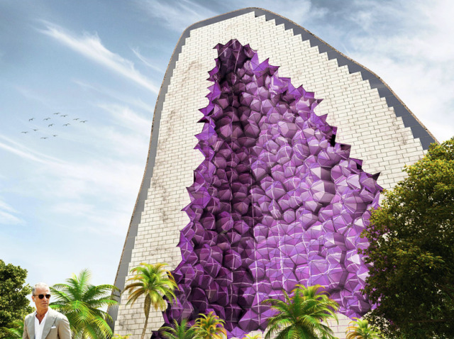 Amethyst hotel by NL architects in China