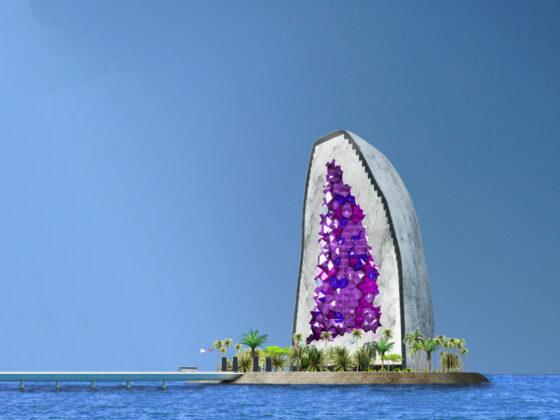Кристальный отель Аметист в Китае