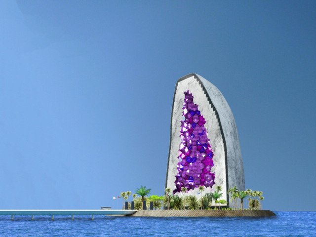 Amethyst hotel by NL architects in China 7