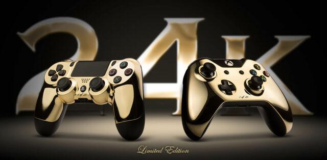 ColorWare Golden controllers