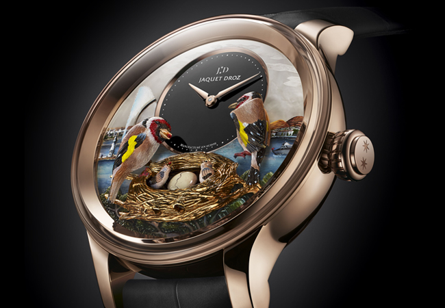 Jaquet Droz Bird Repeater Geneva
