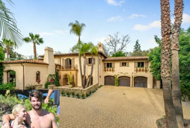 Miley Cyrus Home Los-Angeles
