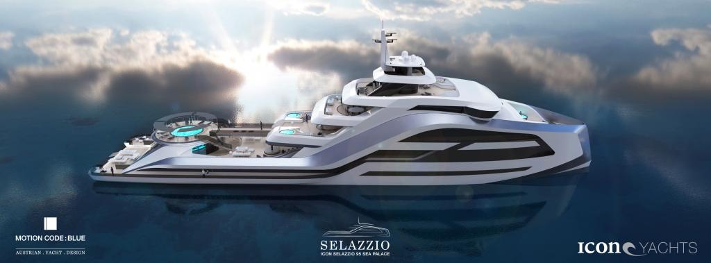 Суперяхта Selazzio 95 Sea Palace от ICON Yachts