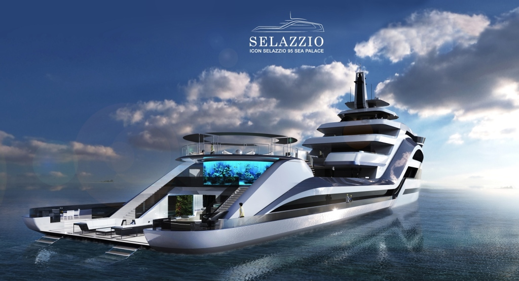 Selazzio 95 Sea Palace by ICON Yachts