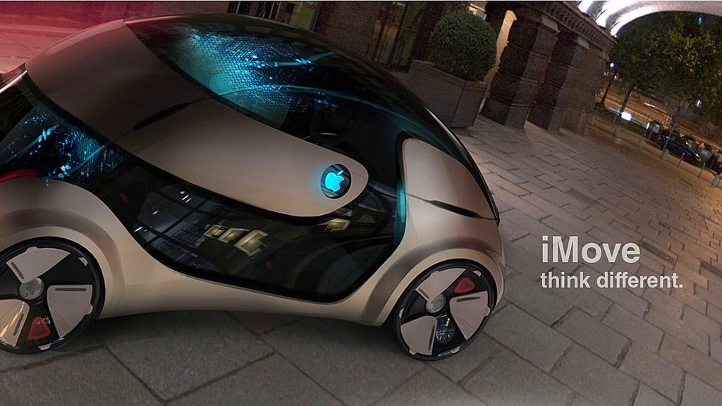На фото: концепт 2020 Apple iMove Study от дизайнера Liviu Tudoran.