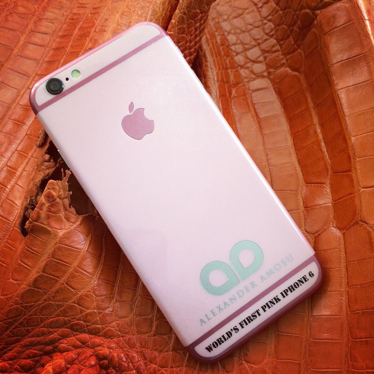 Amosu pink iPhone 6 for Valentines Day
