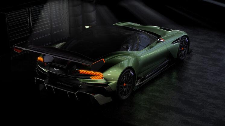 Суперкар Aston Martin Vulcan рассекречен