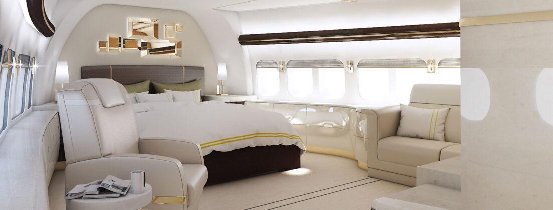 Летающая мегаяхта Boeing 747-8 VVIP