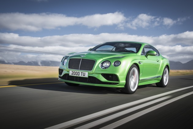 Новые Bentley Continental GT и Flying Spur