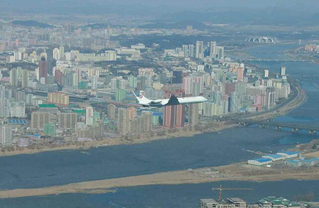 Роскошный самолет Ким Чен Ына