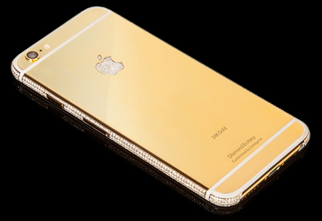 Luxury Gold iPhone 6 Diamond Ecstasy Limited Edition