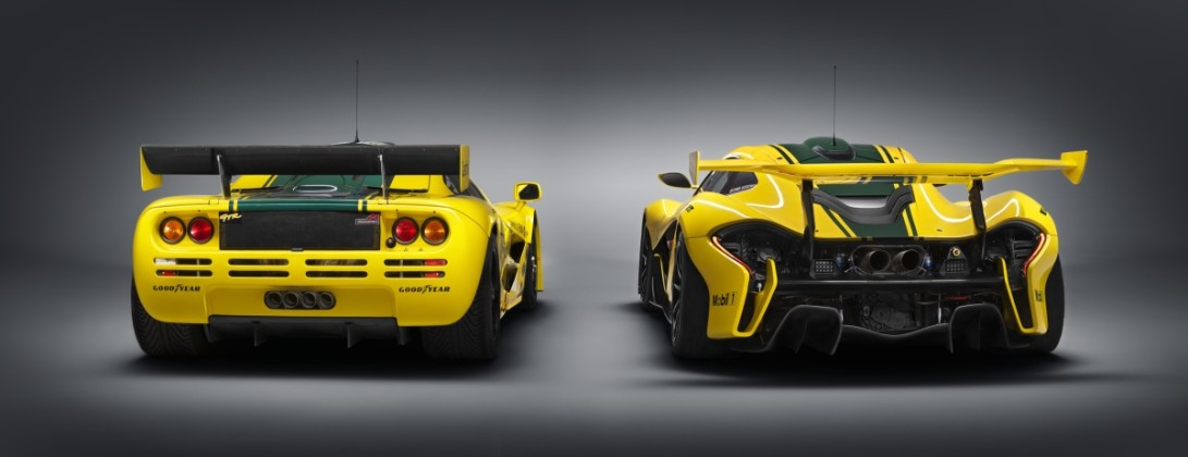 Гибридный суперкар McLaren P1 GTR за  млн