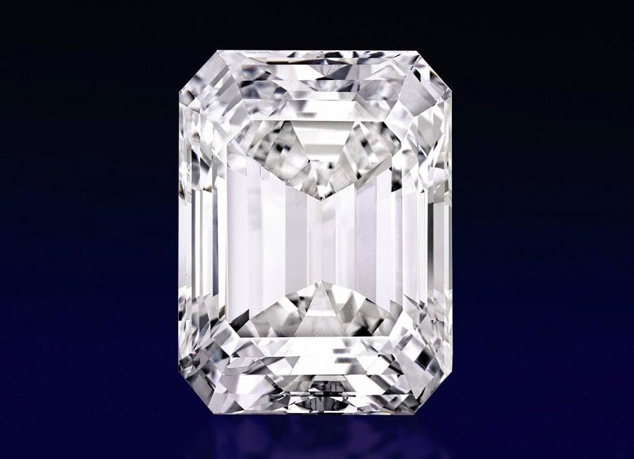 Perfect white diamond