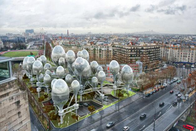 Новый воздушный Париж