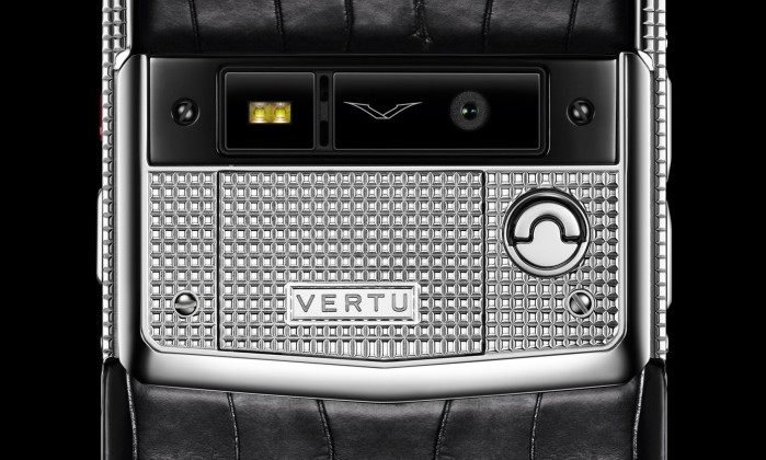 Валентинный Vertu Signature Touch Clous de Paris