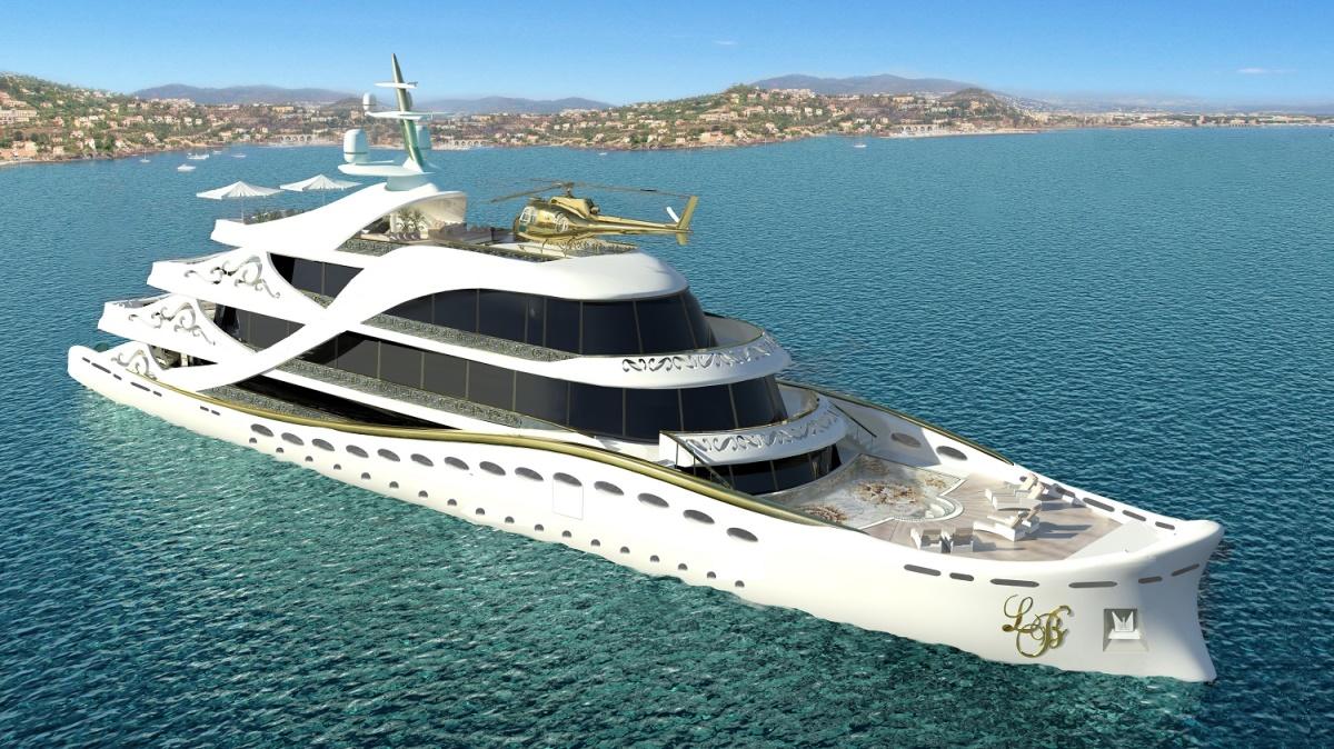 Yacht La Belle by Lidia Bersani