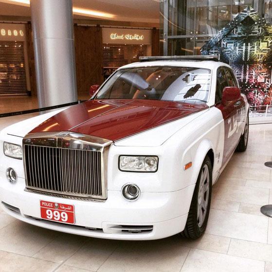 Abu-Dhabi Police Rolls-Royce Phantom 3