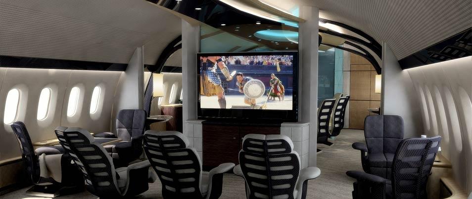 Летающий дворец Boeing 787-900 Dreamliner