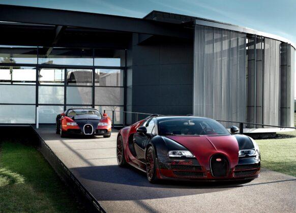 Последний суперкар Bugatti Veyron La Finale