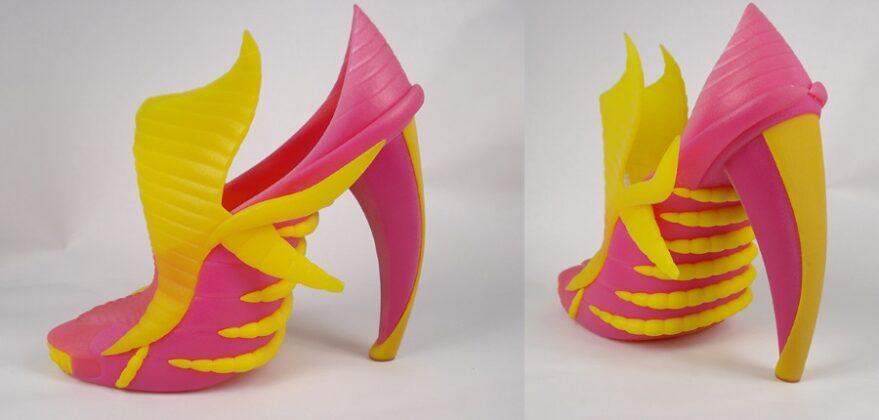 Модная одежда из 3D-принтера