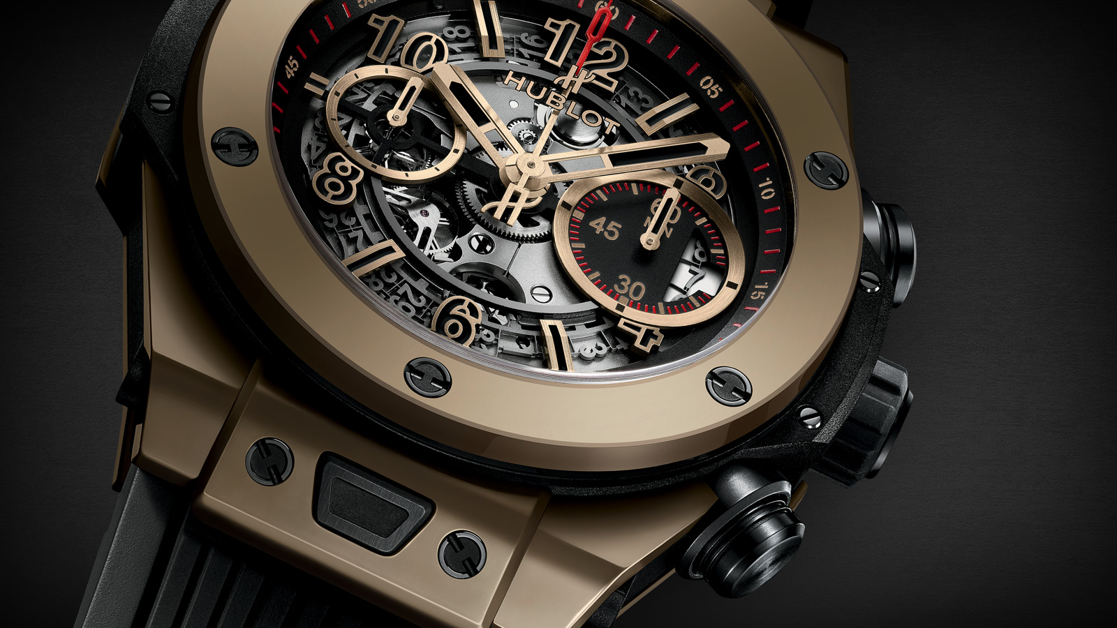 Hublot Big Bang Unico Full Magic Gold 2