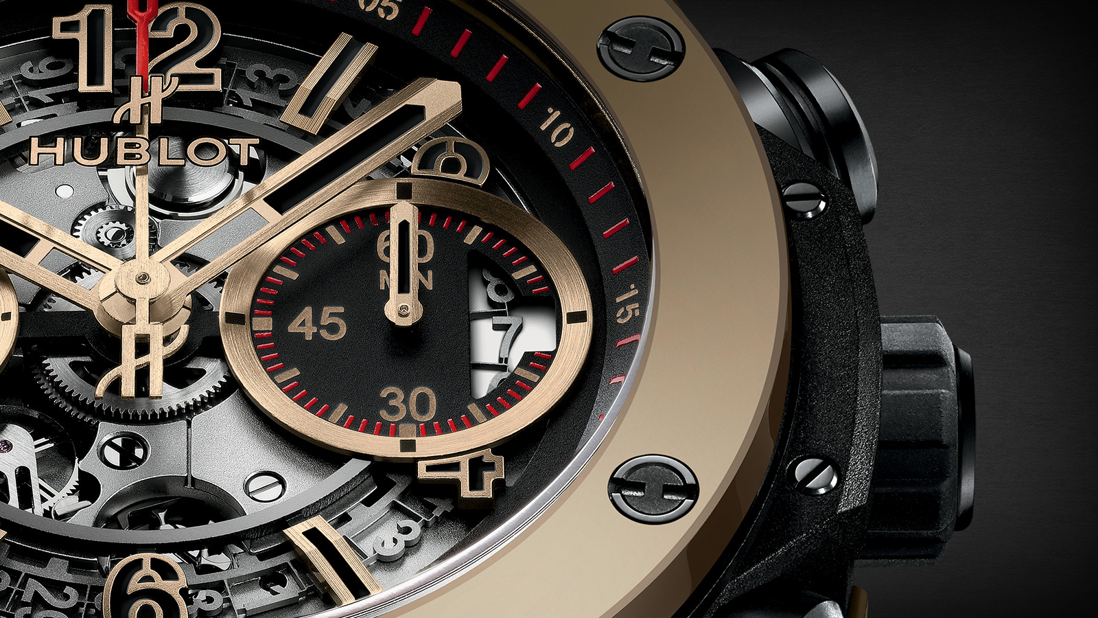 Hublot Big Bang Unico Full Magic Gold 3