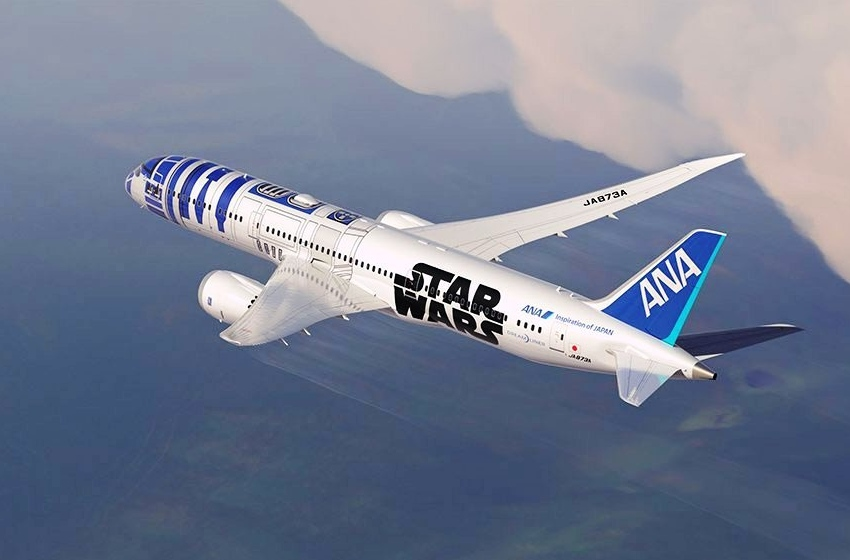 Звездный ANA Boeing 787-9 Dreamliner Star Wars