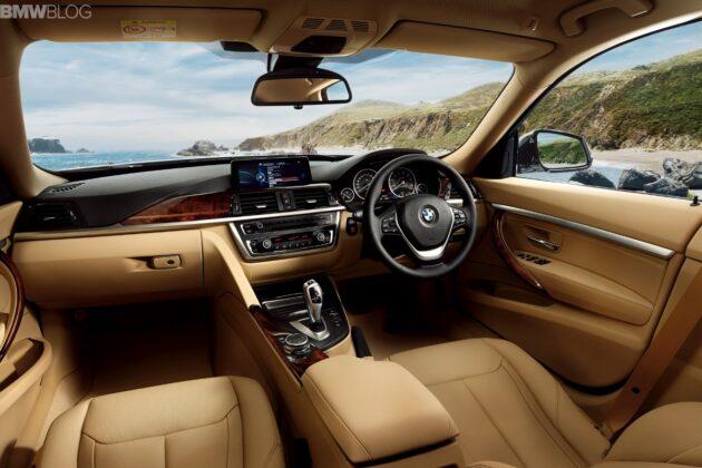 BMW 3 Series GT Luxury Lounge для Японии