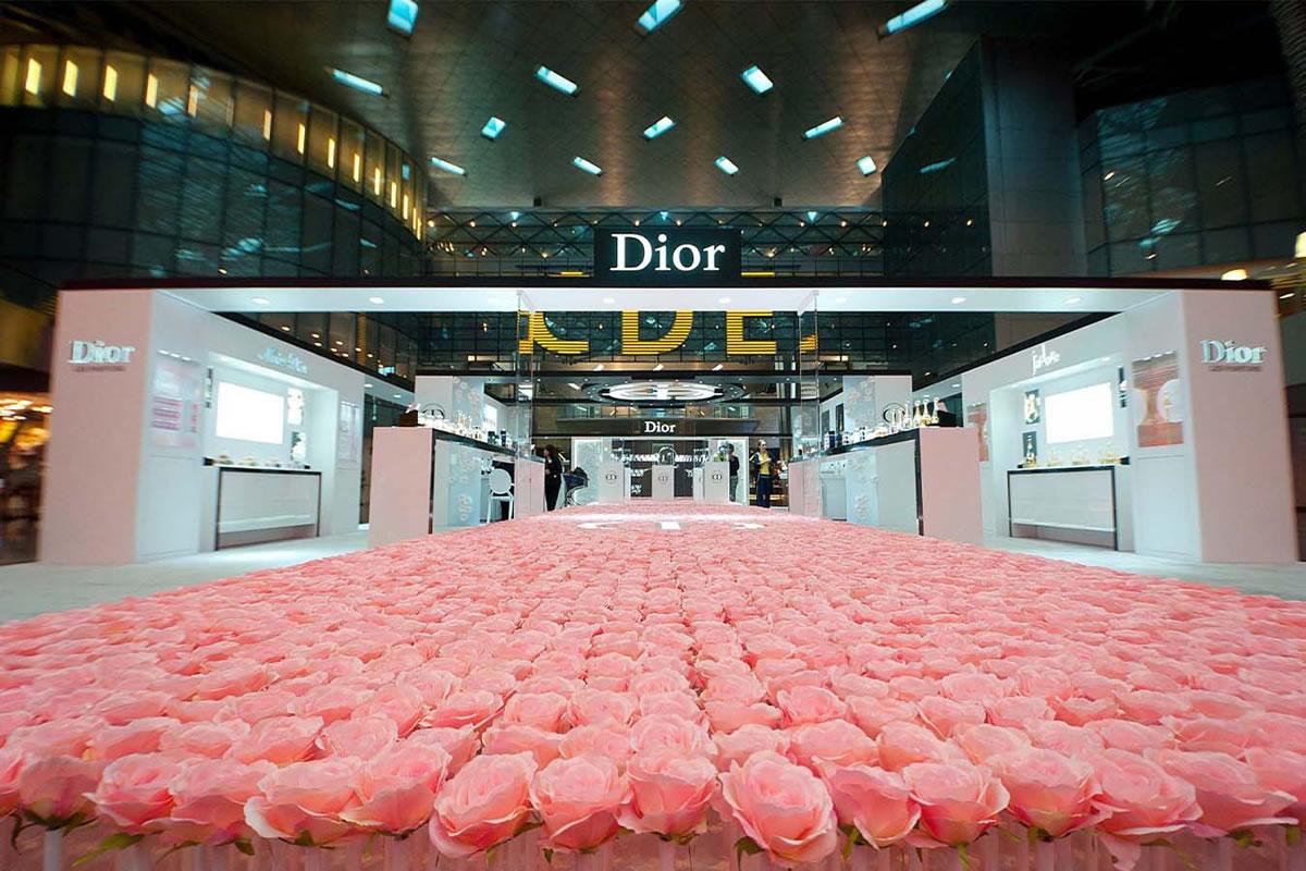 Dior rose sad