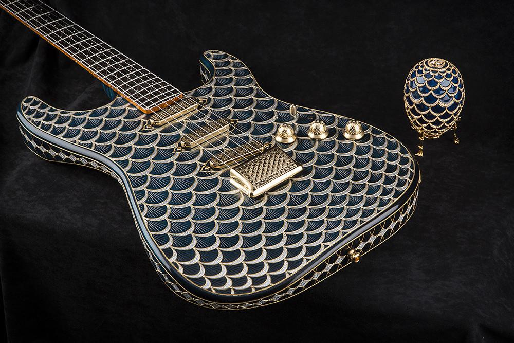 Faberge Fender Stratocaster Pine Cone