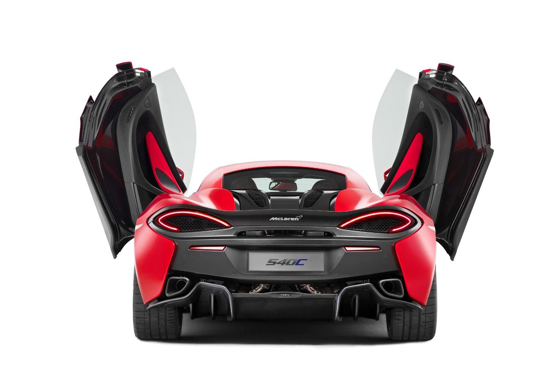 McLaren 540C - самый дешевый в серии