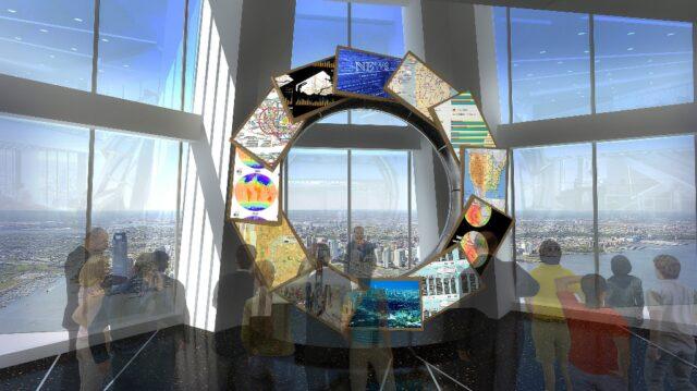 Всемирная обсерватория в ВТЦ 1