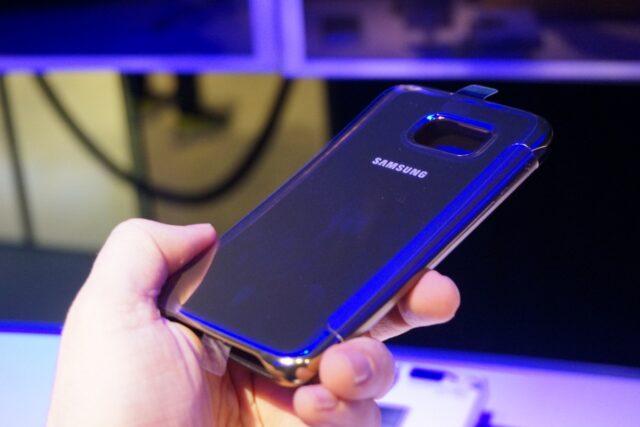 Золотой Samsung S6 Edge Gold Edition
