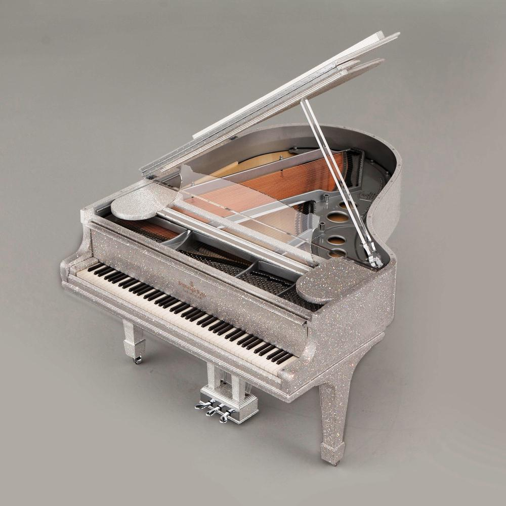 Steinway Sons Crystal Piano by Goldfinch